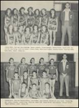 1953 Glen Rose High School Yearbook Page 42 & 43