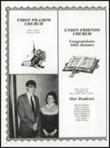 1985 Union Bible High School Yearbook Page 78 & 79
