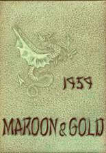 1959 Yearbook Glassboro High School