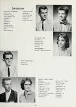 1960 Lafayette Central High School Yearbook Page 16 & 17
