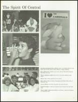 1988 Central Catholic High School Yearbook Page 20 & 21