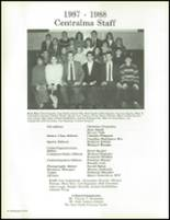 1988 Central Catholic High School Yearbook Page 46 & 47