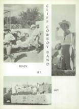 1967 Cliff Consolidated High School Yearbook Page 62 & 63