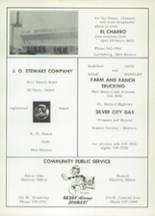 1967 Cliff Consolidated High School Yearbook Page 108 & 109