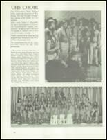 1975 University High School Yearbook Page 132 & 133