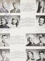 1968 Mt. Pleasant High School Yearbook Page 34 & 35
