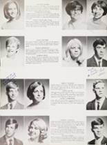 1968 Mt. Pleasant High School Yearbook Page 38 & 39