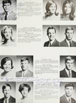 1968 Mt. Pleasant High School Yearbook Page 40 & 41