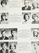 1968 Mt. Pleasant High School Yearbook Page 42 & 43