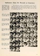 1962 P.A. Allen High School Yearbook Page 54 & 55
