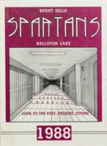 1988 Yearbook Burnt Hills-Ballston Lake High School
