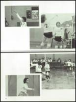 1985 West Liberty-Salem High School Yearbook Page 16 & 17