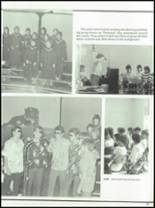 1985 West Liberty-Salem High School Yearbook Page 42 & 43
