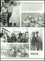1985 West Liberty-Salem High School Yearbook Page 46 & 47