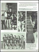 1985 West Liberty-Salem High School Yearbook Page 48 & 49