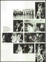 1985 West Liberty-Salem High School Yearbook Page 56 & 57