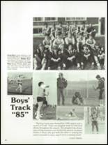 1985 West Liberty-Salem High School Yearbook Page 72 & 73