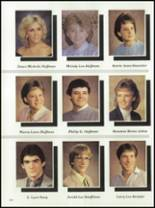 1985 West Liberty-Salem High School Yearbook Page 108 & 109