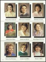 1985 West Liberty-Salem High School Yearbook Page 110 & 111