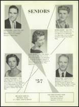 1957 South Haven High School Yearbook Page 20 & 21