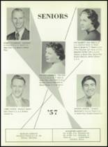 1957 South Haven High School Yearbook Page 24 & 25