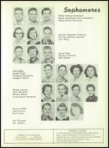 1957 South Haven High School Yearbook Page 32 & 33