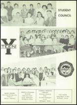 1957 South Haven High School Yearbook Page 58 & 59