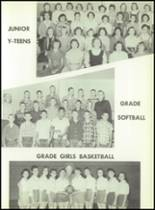 1957 South Haven High School Yearbook Page 62 & 63