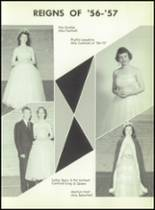 1957 South Haven High School Yearbook Page 82 & 83