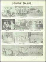 1957 South Haven High School Yearbook Page 86 & 87