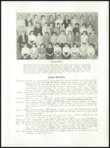 1954 Waterville High School Yearbook Page 28 & 29