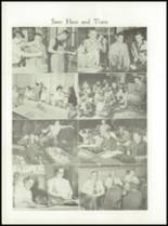 1954 Waterville High School Yearbook Page 34 & 35