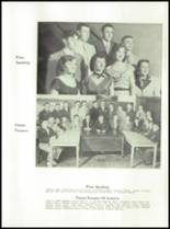 1954 Waterville High School Yearbook Page 46 & 47