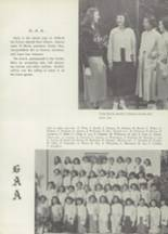 1949 Courtland High School Yearbook Page 36 & 37