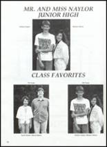 1991 Naylor High School Yearbook Page 74 & 75
