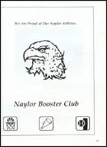 1991 Naylor High School Yearbook Page 110 & 111