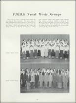 1952 Ft. Madison High School Yearbook Page 32 & 33