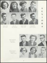 1952 Ft. Madison High School Yearbook Page 72 & 73