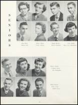 1952 Ft. Madison High School Yearbook Page 78 & 79