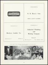 1952 Ft. Madison High School Yearbook Page 102 & 103