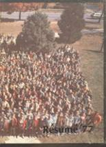 1977 Yearbook Central High School
