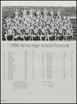 1990 Alma High School Yearbook Page 52 & 53