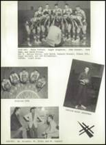 1958 Elmore High School Yearbook Page 36 & 37