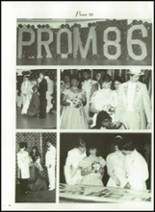 1986 Minooka High School Yearbook Page 106 & 107