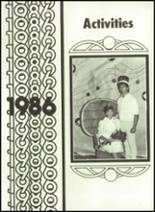 1986 Minooka High School Yearbook Page 124 & 125