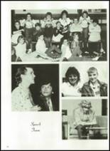 1986 Minooka High School Yearbook Page 136 & 137