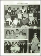 1986 Minooka High School Yearbook Page 138 & 139