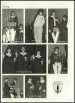 1986 Minooka High School Yearbook Page 154 & 155