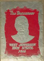 1958 Yearbook West Jefferson High School