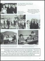 2001 Liberty Junior-Senior High School Yearbook Page 50 & 51